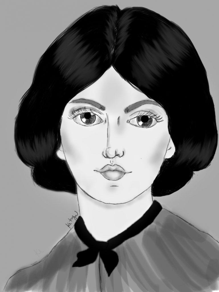 Emily Bronte (por Ketryn Alves)