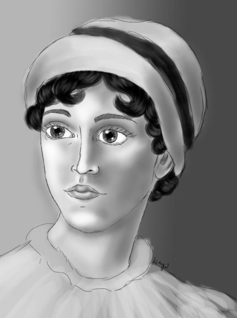 Jane Austen (por Ketryn Alves)