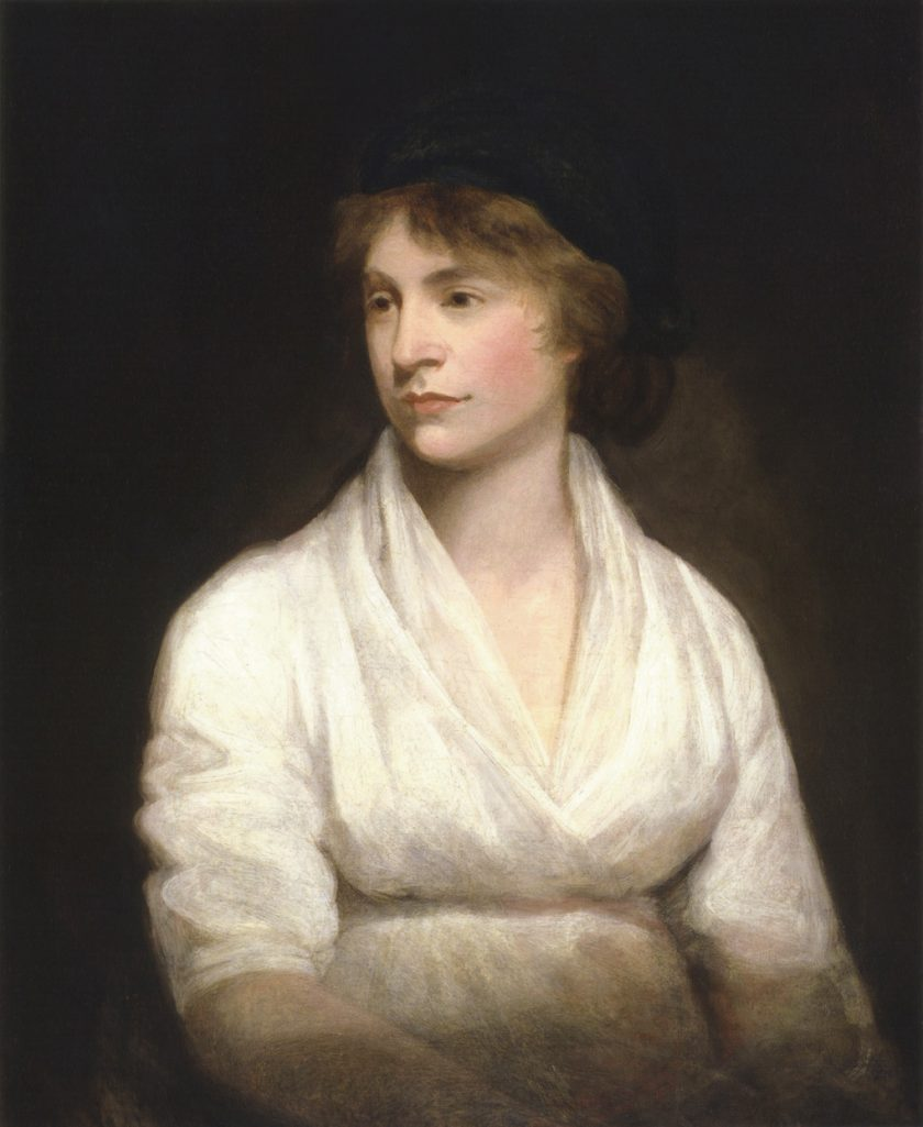 Mary Wollstonecraft (por John Opie)